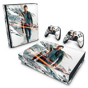Xbox One X Skin - Quantum Break
