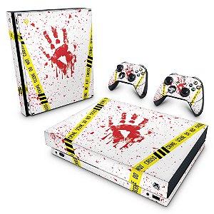 Xbox One X Skin - Cena de Crime Scene