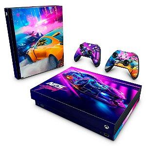 Xbox One X Skin - Need For Speed Heat
