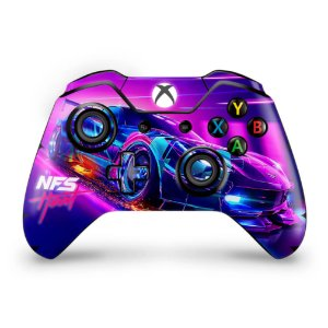 Skin Xbox One Fat Controle - Need For Speed Heat
