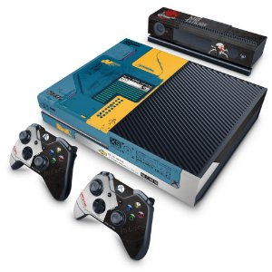 Xbox One Fat Skin - Cyberpunk 2077 Bundle