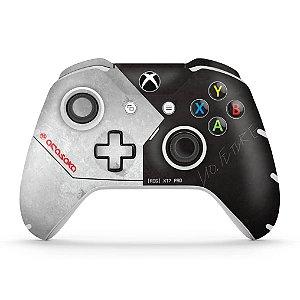 Skin Xbox One Slim X Controle - Cyberpunk 2077 Bundle