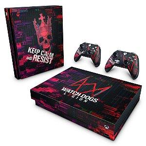 Xbox One X Skin - Watch Dogs legion