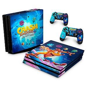 PS4 Pro Skin - Crash Bandicoot 4