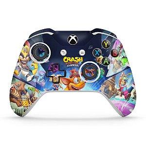 Skin Xbox One Slim X Controle - Crash Bandicoot 4