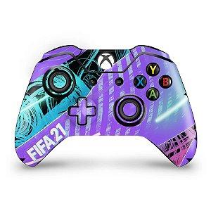 Skin Xbox One Fat Controle - FIFA 21