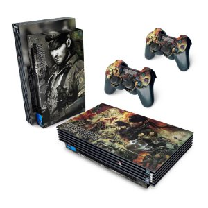 PS2 Fat Skin - Metal Gear Solid 3