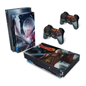 PS2 Fat Skin - Devil May Cry 3
