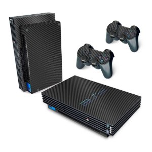 PS2 Fat Skin - Fibra de Carbono Preto