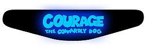 PS4 Light Bar - Coragem: O cão covarde
