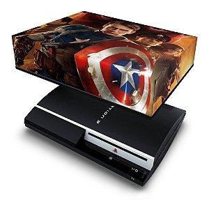 PS3 Fat Capa Anti Poeira - Capitao America