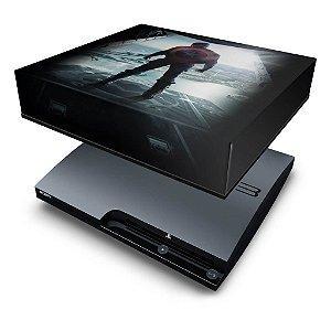 PS3 Slim Capa Anti Poeira - Capitão América