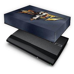 PS3 Super Slim Capa Anti Poeira - Street Fighter #A
