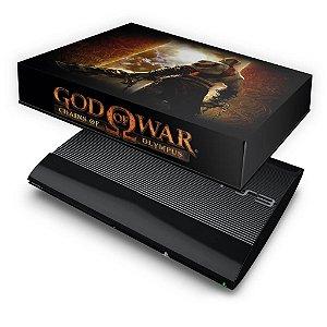 PS3 Super Slim Capa Anti Poeira - God Of War 2