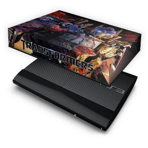 PS3 Super Slim Capa Anti Poeira - Transformers