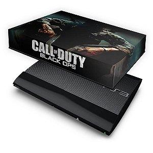 PS3 Super Slim Capa Anti Poeira - Call O Duty Black Ops