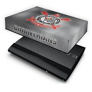 PS3 Super Slim Capa Anti Poeira - Corinthians
