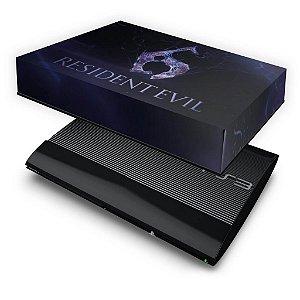 PS3 Super Slim Capa Anti Poeira - Resident Evil 6