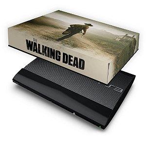 PS3 Super Slim Capa Anti Poeira - The Walking Dead