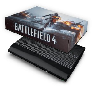 PS3 Super Slim Capa Anti Poeira - Battlefield 4