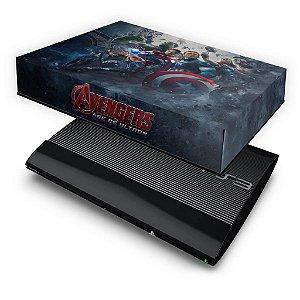 PS3 Super Slim Capa Anti Poeira - Vingadores 2