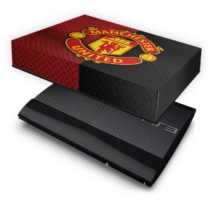 PS3 Super Slim Capa Anti Poeira - Manchester United