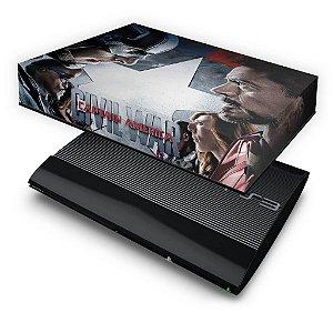 PS3 Super Slim Capa Anti Poeira - Capitão America Guerra