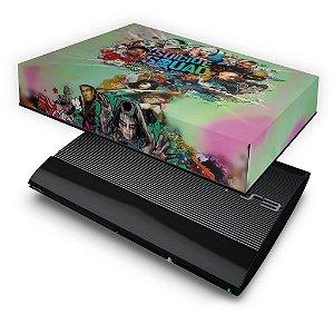 PS3 Super Slim Capa Anti Poeira - Esquadrão Suicida