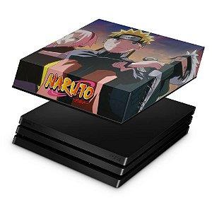 PS4 Pro Capa Anti Poeira - Naruto
