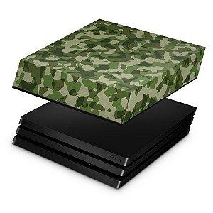 PS4 Pro Capa Anti Poeira - Camuflagem Exercito