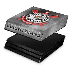 PS4 Pro Capa Anti Poeira - Corinthians