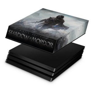 PS4 Pro Capa Anti Poeira - Middle Earth: Shadow of Mordor