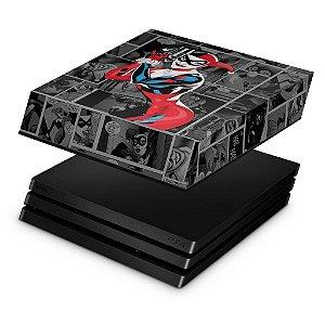 PS4 Pro Capa Anti Poeira - Harley Quinn - Arlequina #a