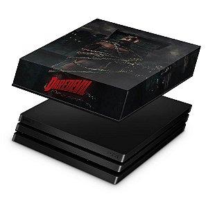 PS4 Pro Capa Anti Poeira - Daredevil Demolidor