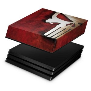 PS4 Pro Capa Anti Poeira - The Punisher Justiceiro