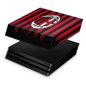 PS4 Pro Capa Anti Poeira - AC Milan