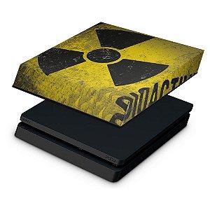 PS4 Slim Capa Anti Poeira - Radioativo