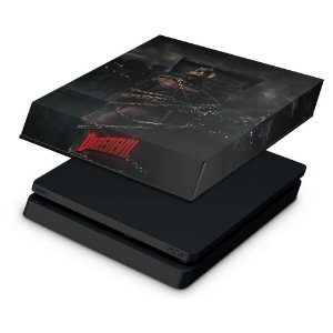 PS4 Slim Capa Anti Poeira - Daredevil Demolidor