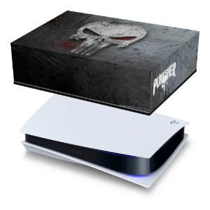 PS5 Capa Anti Poeira - The Punisher Justiceiro
