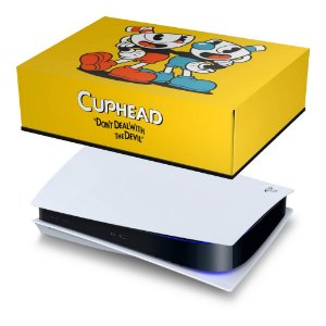 PS5 Capa Anti Poeira - Cuphead