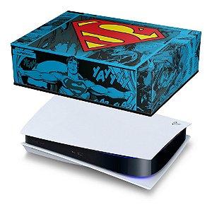 PS5 Capa Anti Poeira - Superman Comics