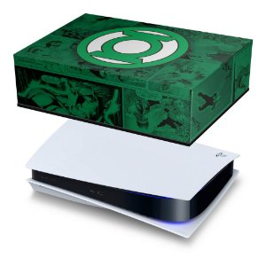 PS5 Capa Anti Poeira - Lanterna Verde Comics
