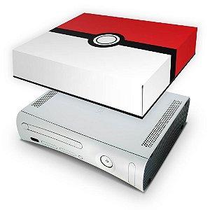 Xbox 360 Fat Capa Anti Poeira - Pokemon Pokebola