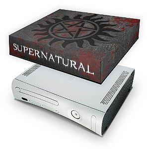 Xbox 360 Fat Capa Anti Poeira - Sobrenatural