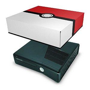 Xbox 360 Slim Capa Anti Poeira - Pokemon Pokebola