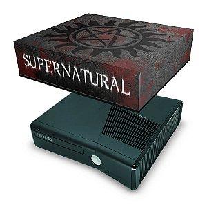Xbox 360 Slim Capa Anti Poeira - Sobrenatural