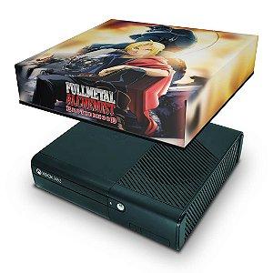 Xbox 360 Super Slim Capa Anti Poeira - Fullmetal Alchemist