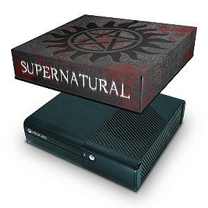 Xbox 360 Super Slim Capa Anti Poeira - Sobrenatural