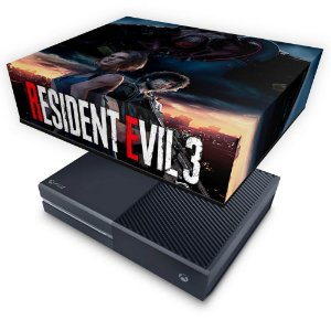 Xbox One Fat Capa Anti Poeira - Resident Evil 3 Remake