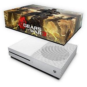Xbox One Slim Capa Anti Poeira - Gears of War